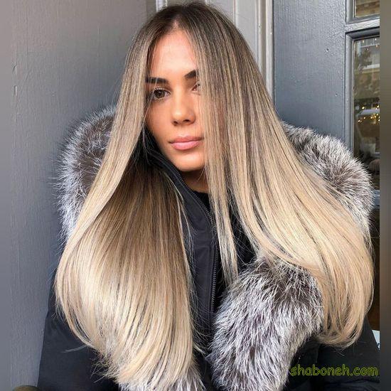 مدل جدید رنگ مو دخترانه