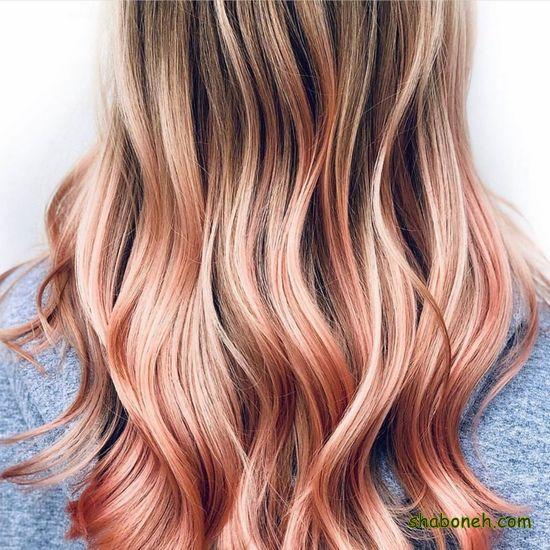 رنگ مو شیک و خاص
