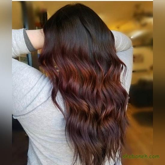 رنگ مو شیک دخترانه