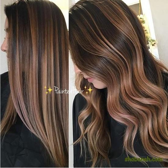 مدل جدید رنگ مو هایلایت مدرن و خاص