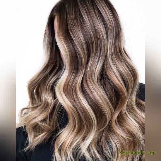 انواع رنگ موها مدرن و خاص