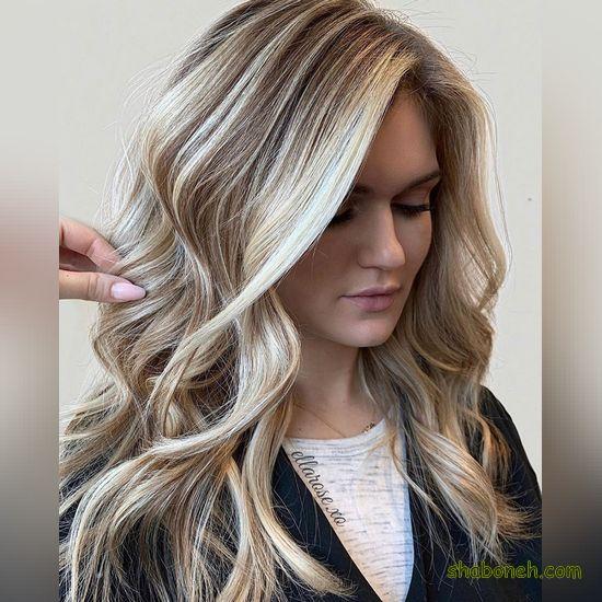 رنگ مو جدید دخترانه 99