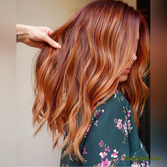انواع رنگ مو روشن مدرن و خاص