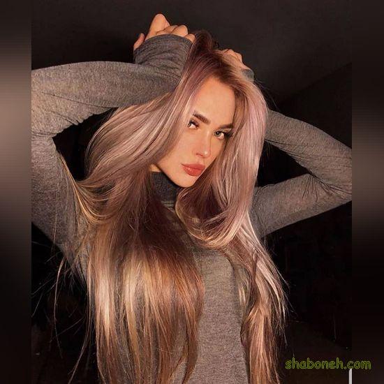 مدل های جدید موی هایلایت