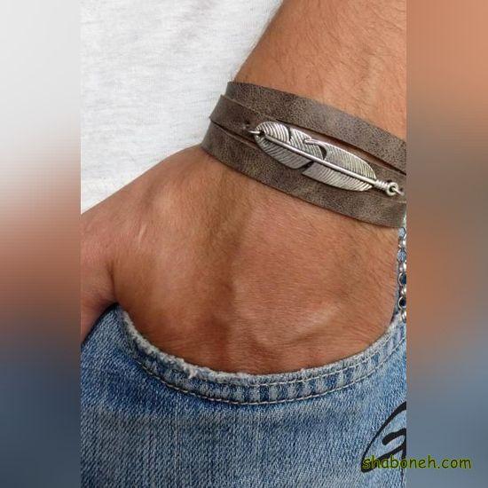 مدل دستبند چرم 2020 - 99
