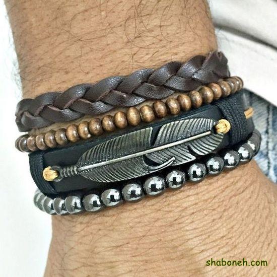 دستبند چرمی جدید