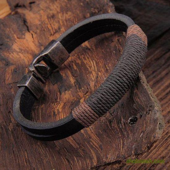 دستبند چرم جدید