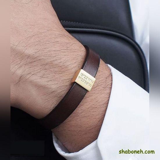 انواع دستبند چرم پسرانه