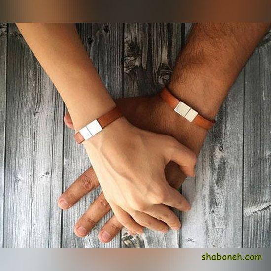 انواع دستبند چرمی دخترانه