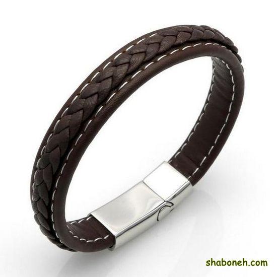 انواع دستبند چرمی مردانه