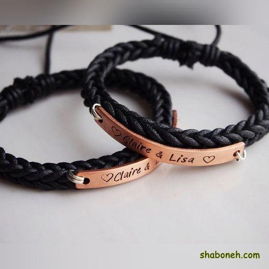 انواع دستبند چرم 99