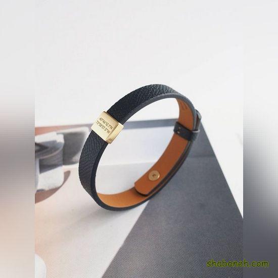 مدل دستبند چرم دخترانه