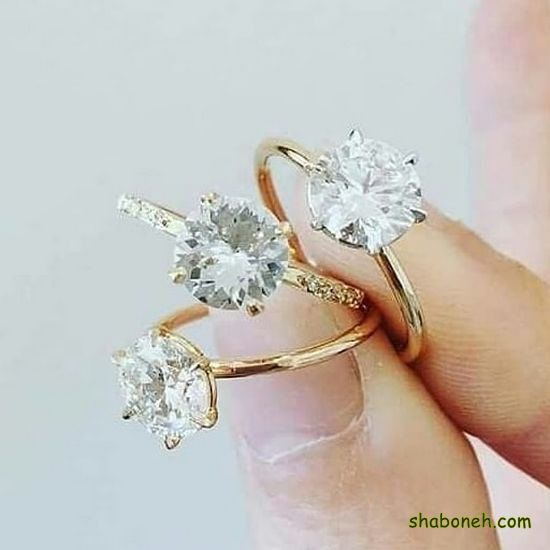 انواع انگشتر نـقره دخترانه شیک