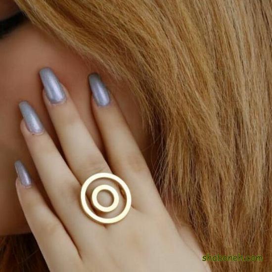 خرید انگشتر نـقره دخترانه شیک