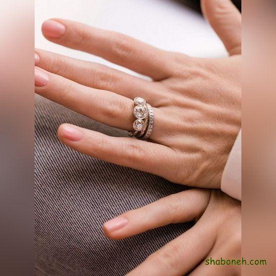 عکس انگشتر نـقره زنانه