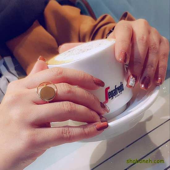 انگشتر طلای مجلسی زنانه