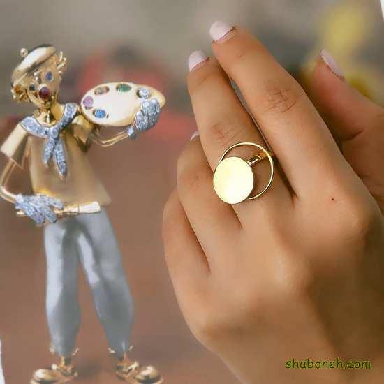 انگشتر نقره دخترانه و زنانه
