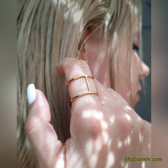 انگشتر نـقره مجلسی زنانه