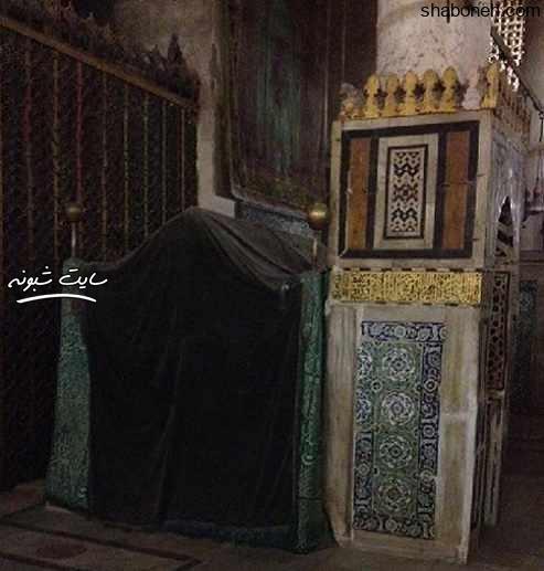 عکس داخل ضریح (مزار) حضرت محمد (ص) و ابوبکر و عمر خطاب