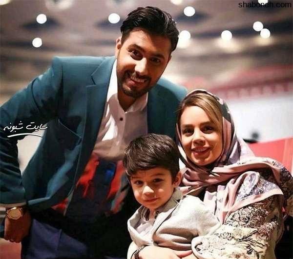 احسان خواجه امیری و همسرش لیلا ربانی