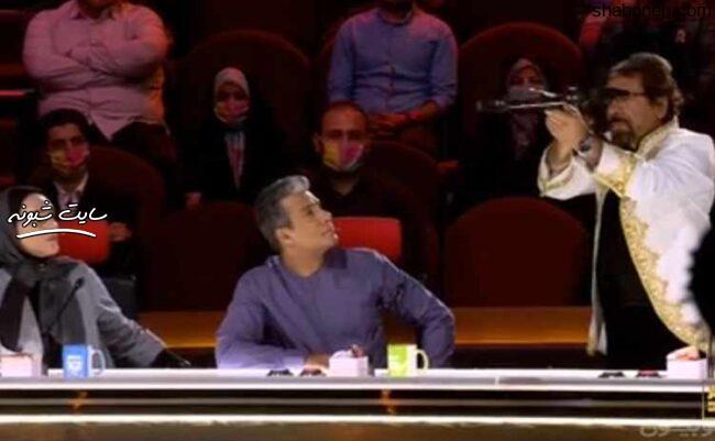فیلم اجرای عمو فخرالدین در مرحله دوم عصر جدید (قسمت سوم 28 تیر 99)