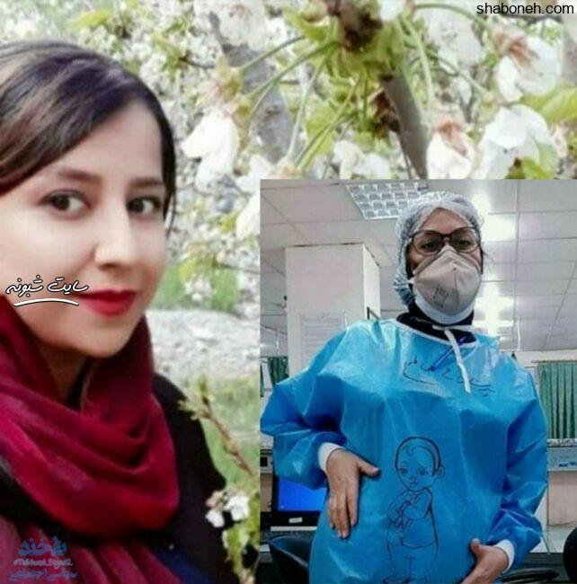 کیانا نخعی کادر درمان جیرفت درگذشت +عکس