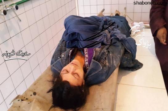 قتل زن توسط شوهر بد دل و شکاک + عکس