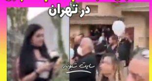 مراسم ختم لاکچری در تهران با حضور زنان بی حجاب