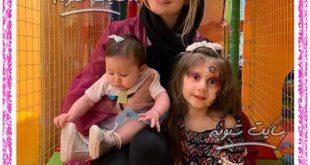 (عکس) پناه و نبات دختران شاهرخ استخری بازیگر (فرزندان شاهرخ استخری)