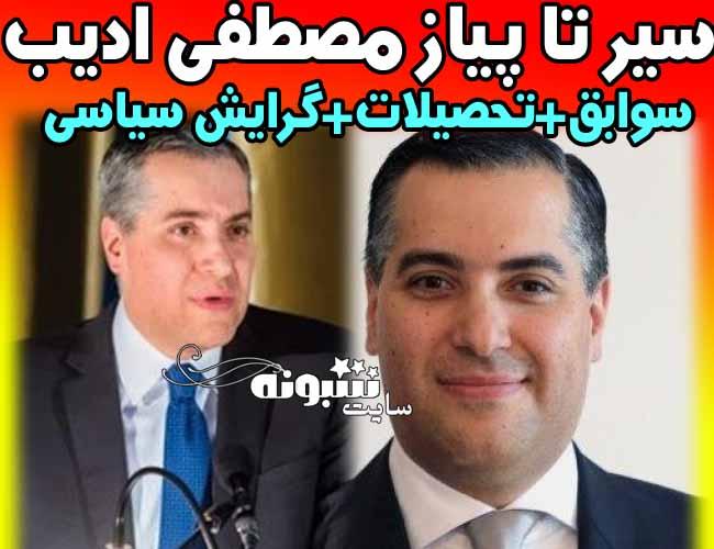 مصطفی ادیب لبنان کیست؟ بیوگرافی مصطفی ادیب و سوابق و گرایش سیاسی