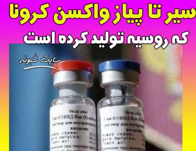 واکسن کرونا روسیه پوتین (واکسن کرونا روسی) + عکس و جزئیات