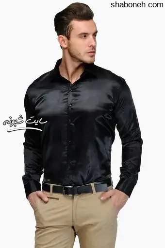 پیراهن مشکی محرم مردانه و پسرانه براق