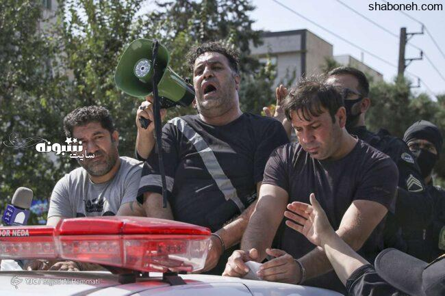 (تصاویر) خیابانگردی اراذل و اوباش در تهرانپارس توسط پلیس +عکس
