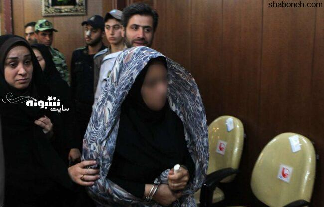 دستگیری الهام سلطان مواد مخدر در سیرجان +عکس