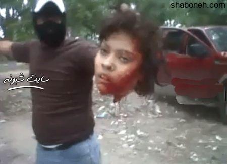 ماجرای فیلم سر بریدن زن جوان به دست قاچاقچیان مکزیکی