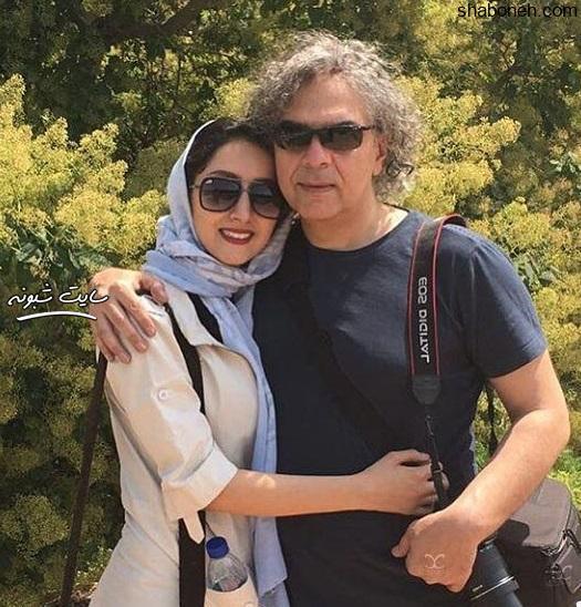 بازیگر نقش استاد حافی در سریال بوم و بانو کیست بیوگرافی مهدی احمدی و همسرش