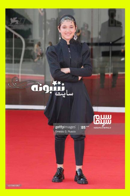 عکس های شمیلا شیرزاد در جشنواره فیلم ونیز (بازیگران فیلم خورشید)