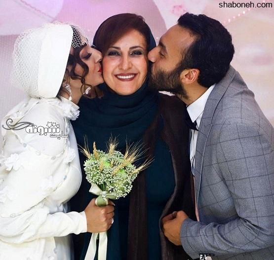 بیوگرافی فاطمه گودرزی بازیگر و همسرش عبدالرضا گنجی +عکس