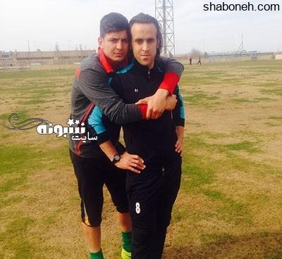 بیوگرافی حامد لک دروازه بان پرسپولیس و همسرش + عکس و اینستاگرام