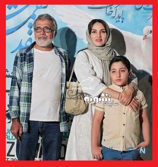 بیوگرافی مرجان شیرمحمدی بازیگر و همسرش بهروز افخمی +همسر اول و عکس