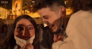 (فیلم) جشن اعلام جنسیت در برج خلیفه دبی فرزند انس مروه فرزند عبداللطیف هشام مروه