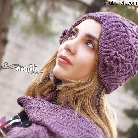 آموزش کلاه و شال گردن بافتنی دخترانه