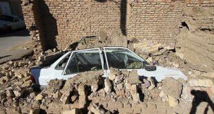 زلزله نوبران قزوین و همدان 5.4 ریشتر