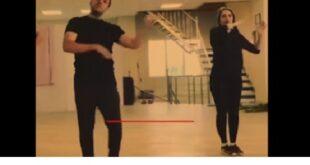 (فیلم) رقص بهنوش طباطبایی با دو مرد و آهنگ انریکه