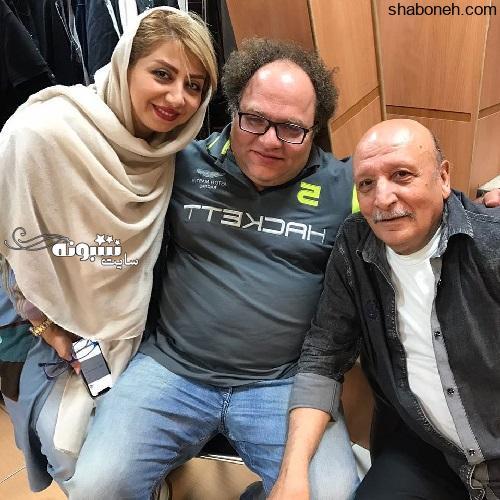 بیوگرافی اصغر سمسارزاده بازیگر اصغر ترقه و همسر و فرزندانش +عکس