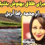 طلاق بهنوش بختیاری و محمدرضا آرین