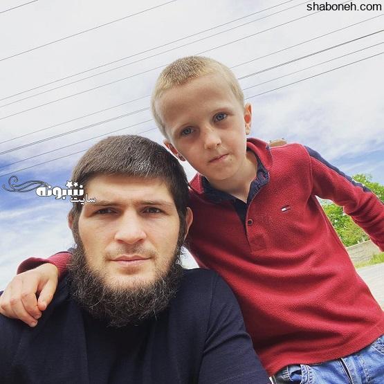 بیوگرافی حبیب نورماگومدوف رزمی ترکیبی و پسرش
