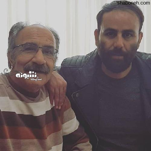 بیوگرافی محمود جعفری بازیگر و همسرش +عکس