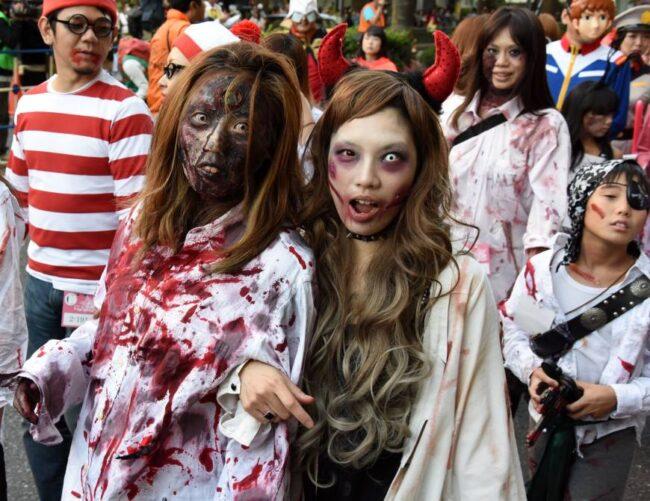 عکس هالووین پروفایل برای دختر و پسر (دخترونه و پسرونه)