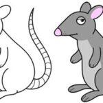 آموزش نقاشی برای کودکان نقاشی حیوانات (آموزش تصویری)